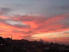 Istambul at dusk