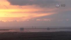 Screen shot of Orion launch
