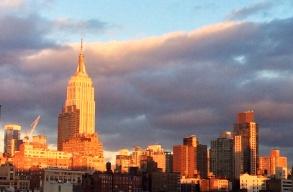 Manhattan from the window
