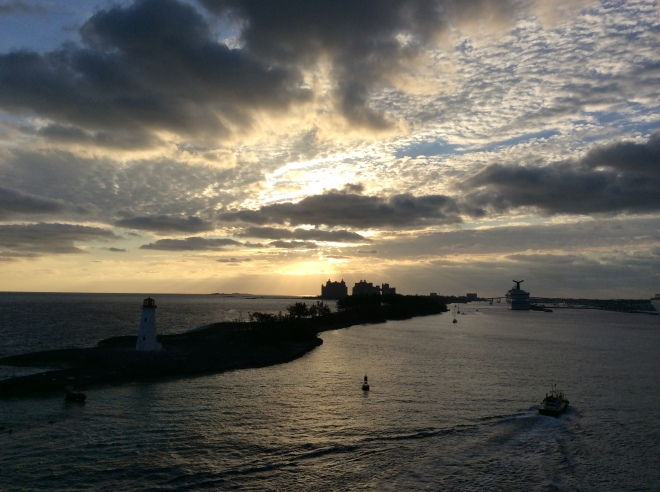 Nassau, 7 a.m.