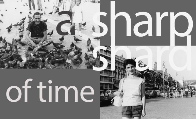 A sharp shard of time